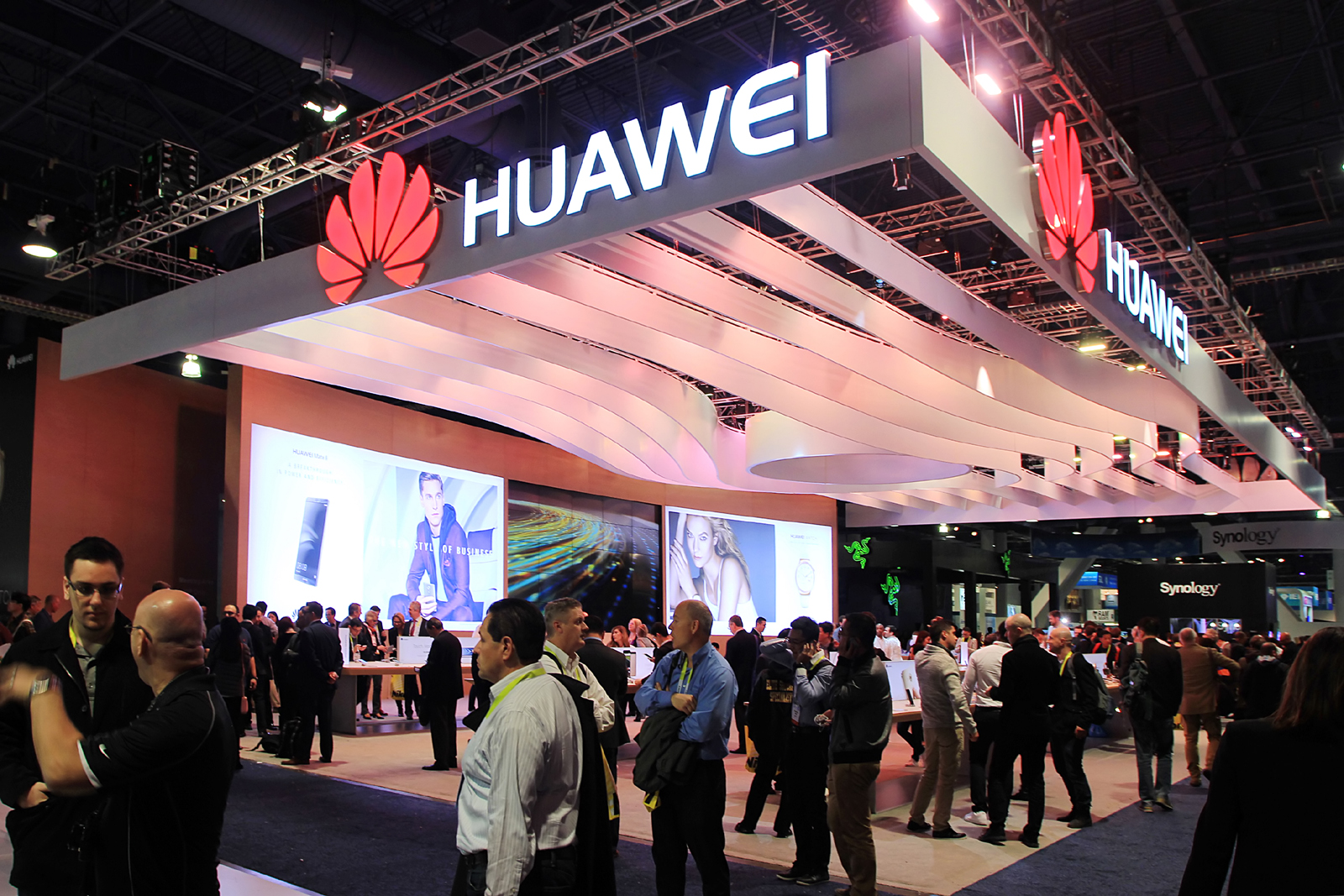 Huawei and IS creating visual experience together